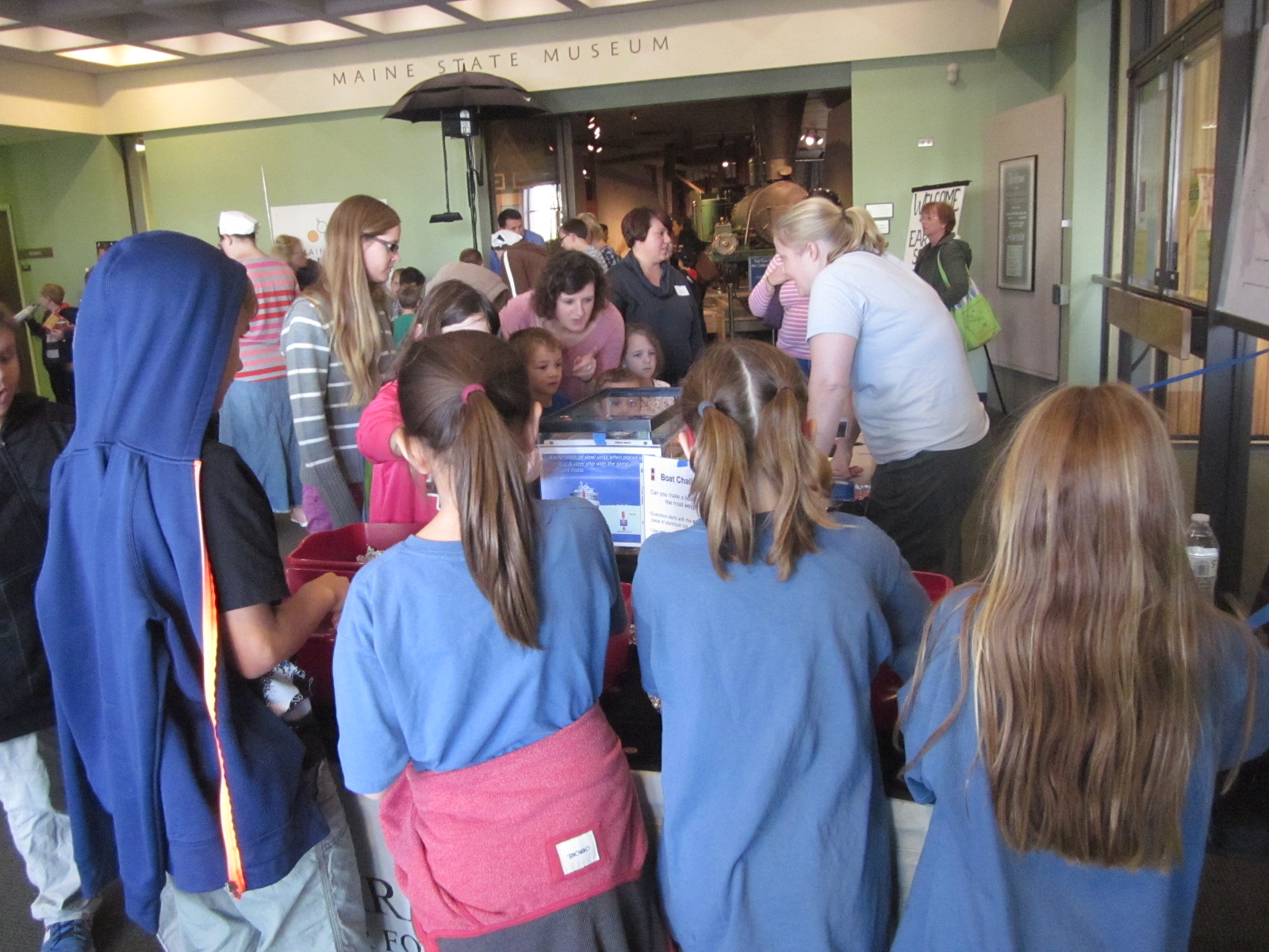 Earth Science Day at the Maine State Museum