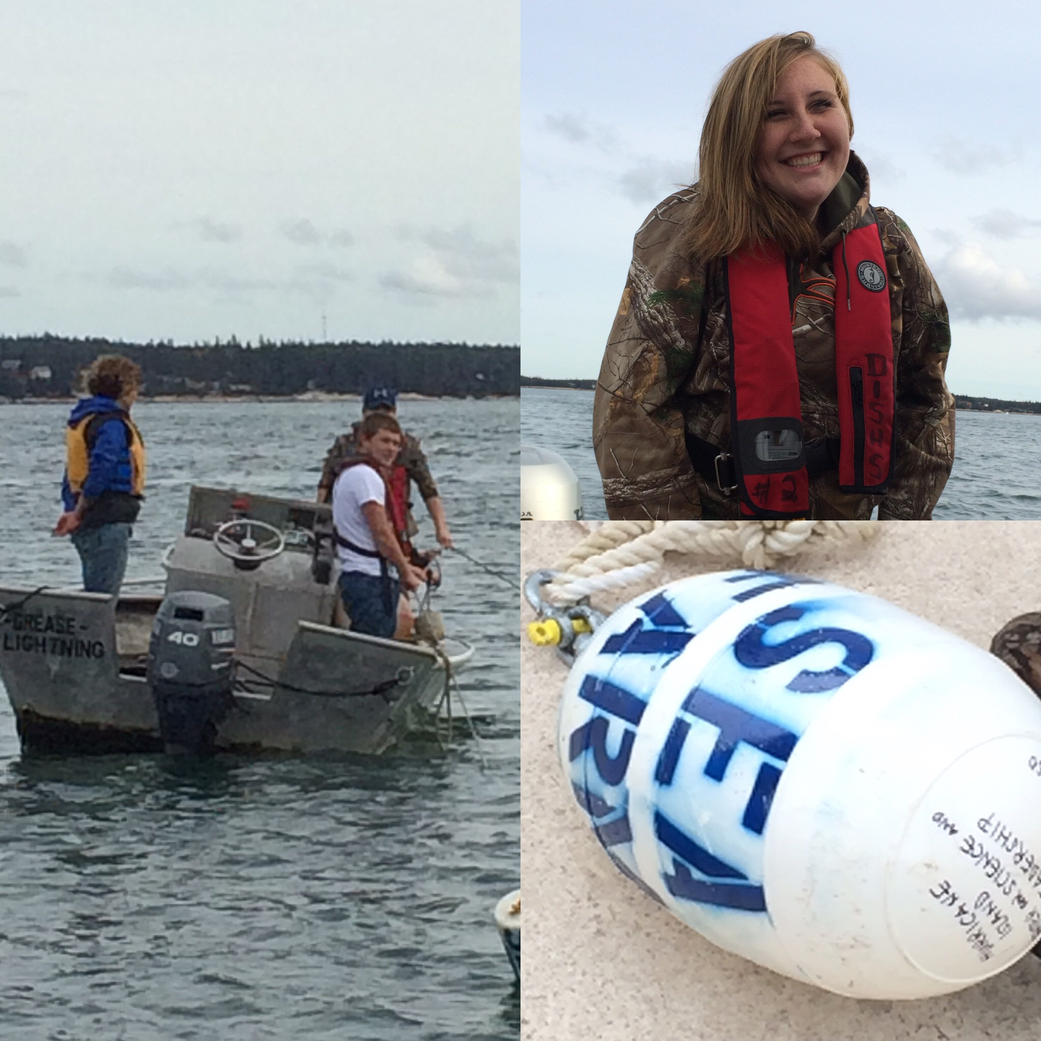 A great day on the water putting our new sea farm in the water