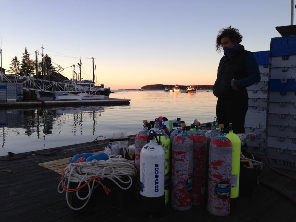 The early morning calm before getting gear onto the boat and setting off for adventure