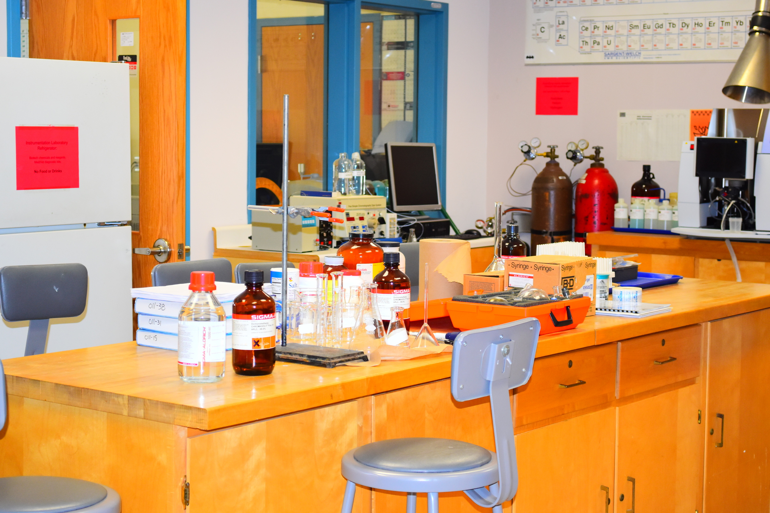 Chemistry lab at AQUA