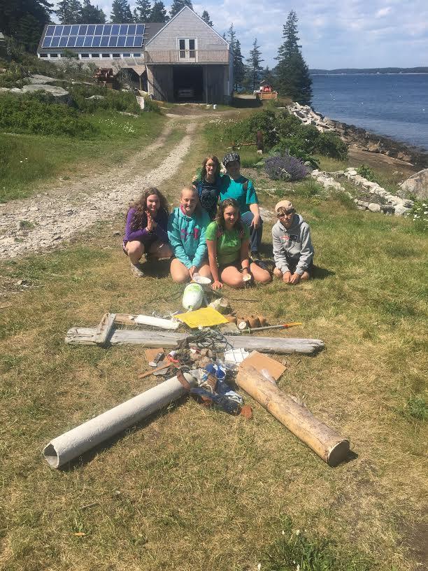 Marine debris sea star created to raise awareness about ocean pollution