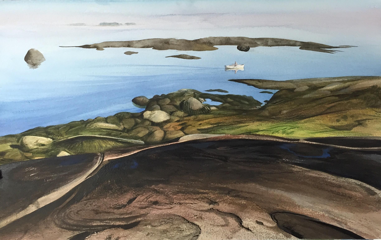 Maine Series - Hurricane Island  -  Fred Poisson