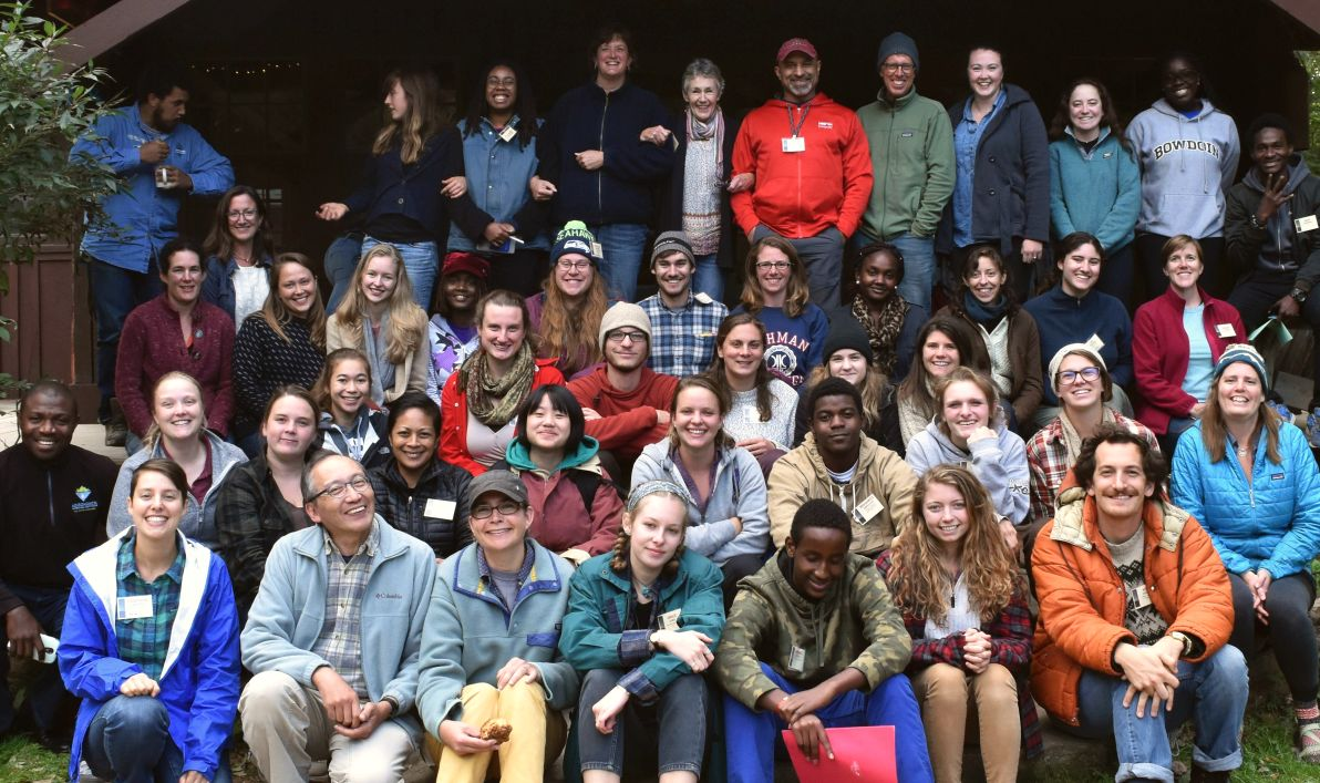 Robin and Jenn participating in the 2017 Emerging Changemakers group - Photo from MEEA's website