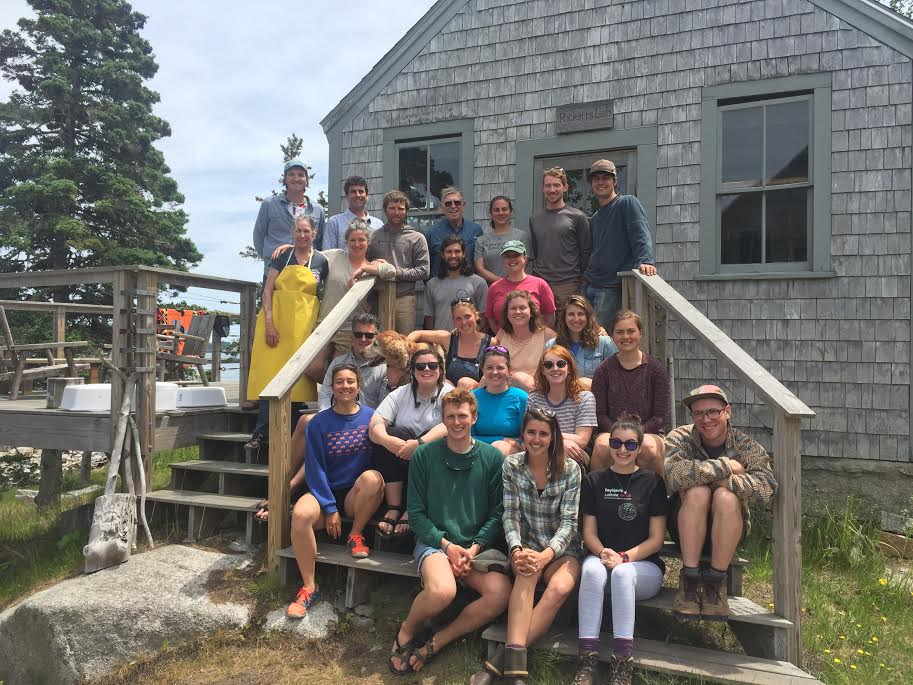 2018 Staff  Back row: Alex Griffith, Bo Hoppin, Jack Morton, Robin Chernow, Alex Berry, Silas Rogers  Second to back row: Bridget Morton, Kerry Deehan, Sam Hallowell, Drew Villeneuve, Jenn Page  Middle row: Eric Horton, Olivia, Marguerite Wiser, Dana Colihan, Lilla Fortunoff  Second row: Phoebe Jekielek, Kat Duvall, Caroline Albertson, Allison Hren, Teagan Wu  First row: Teddy Simpson, Emily Buckner, Ari Katz, Joel Coleman  Missing: Madison Maier