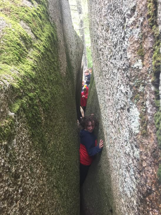 """Cole moves through """"The Crack""""."""