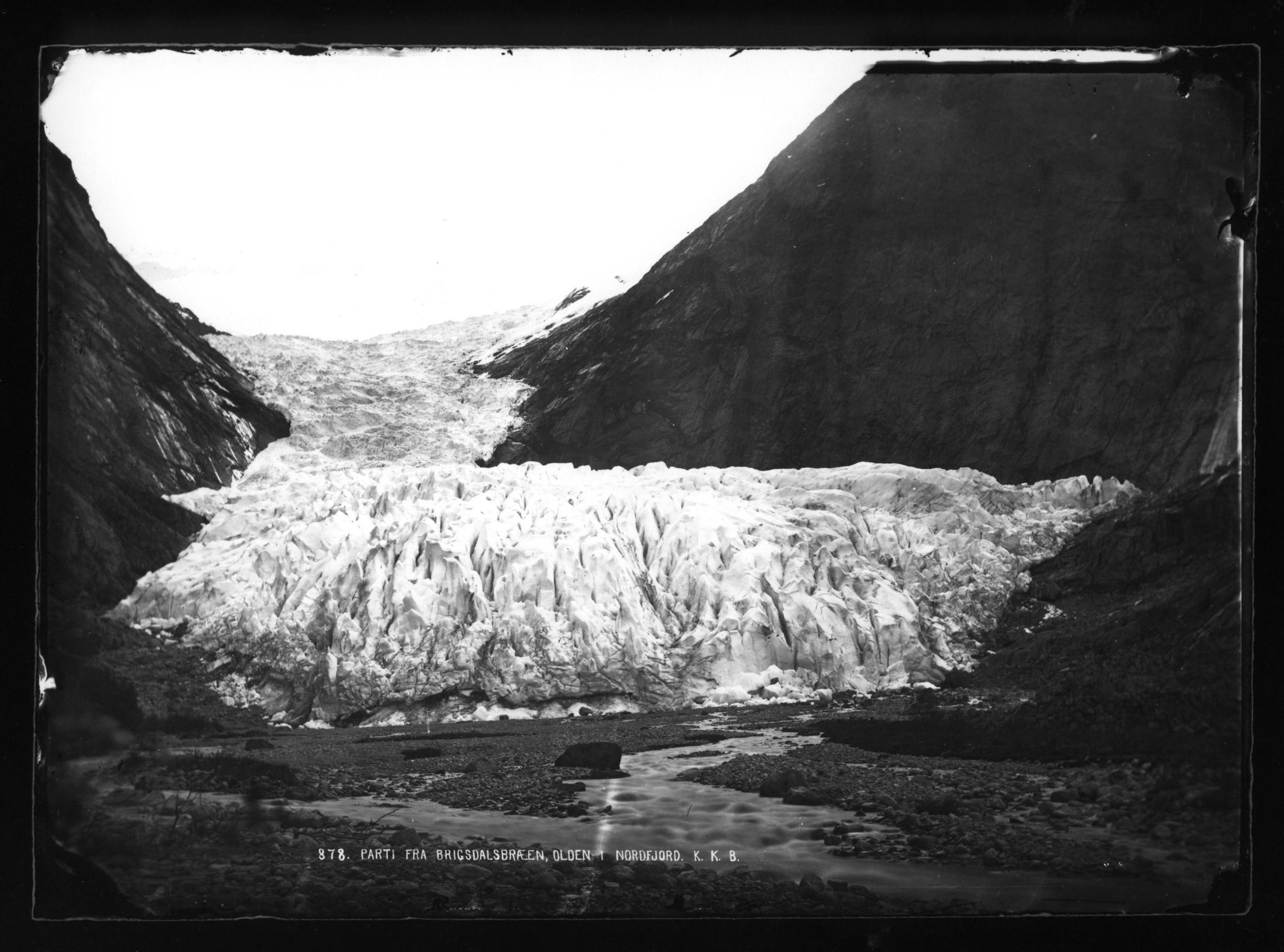 Briksdalsbreen 1872