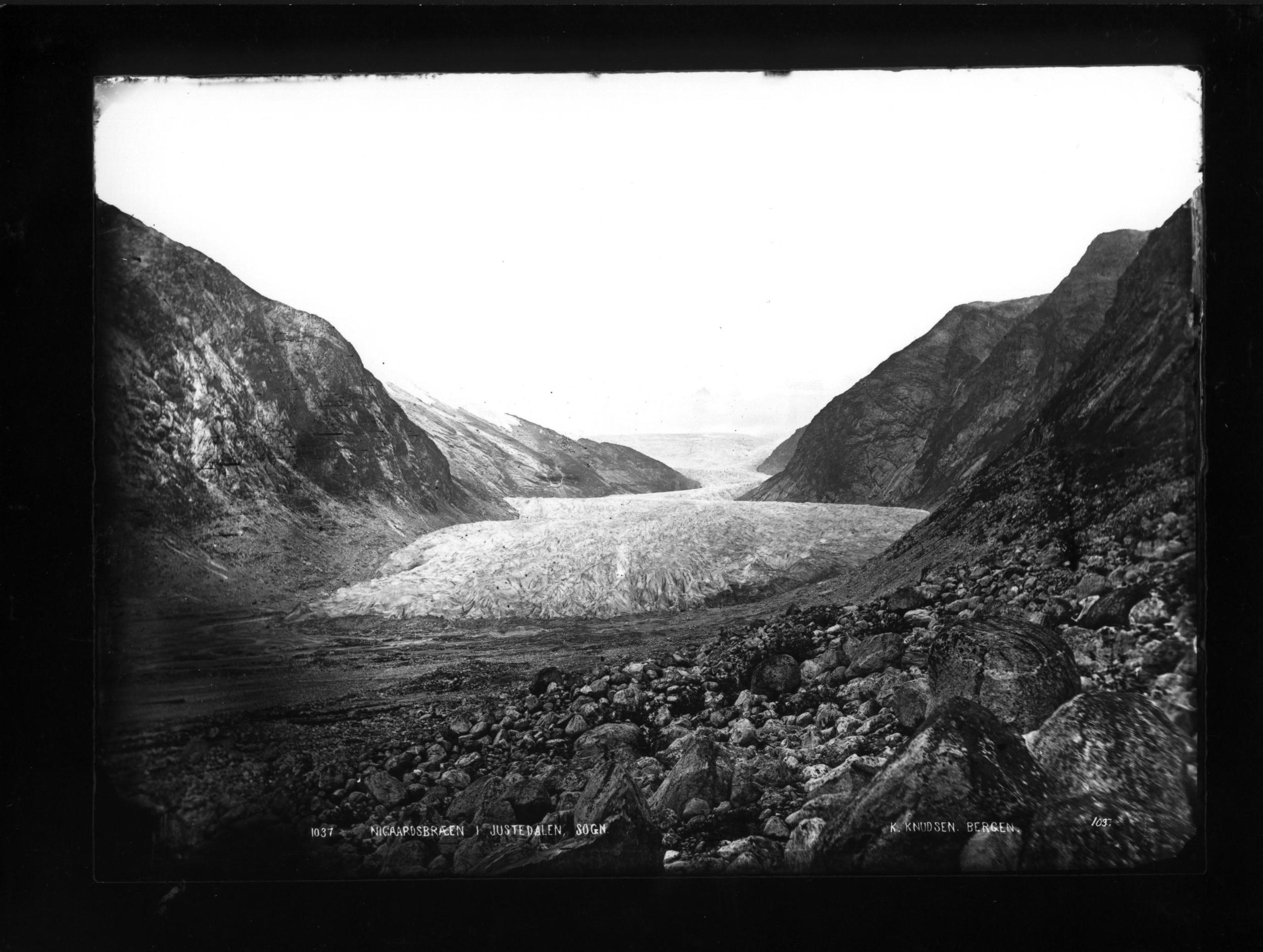 Nigardsbreen 1872