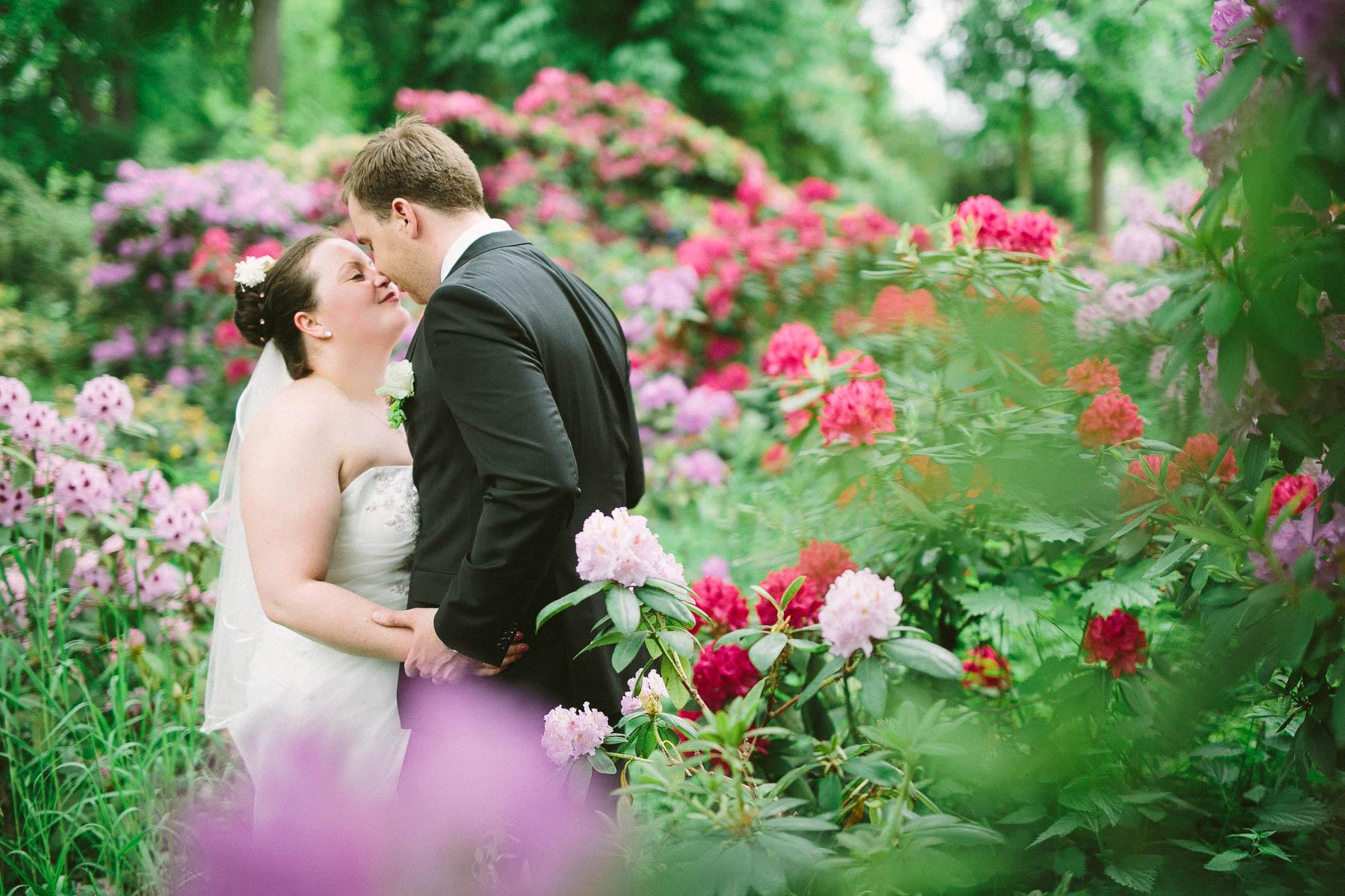 Hochzeitsfotos im Schlossgarten Köpenick