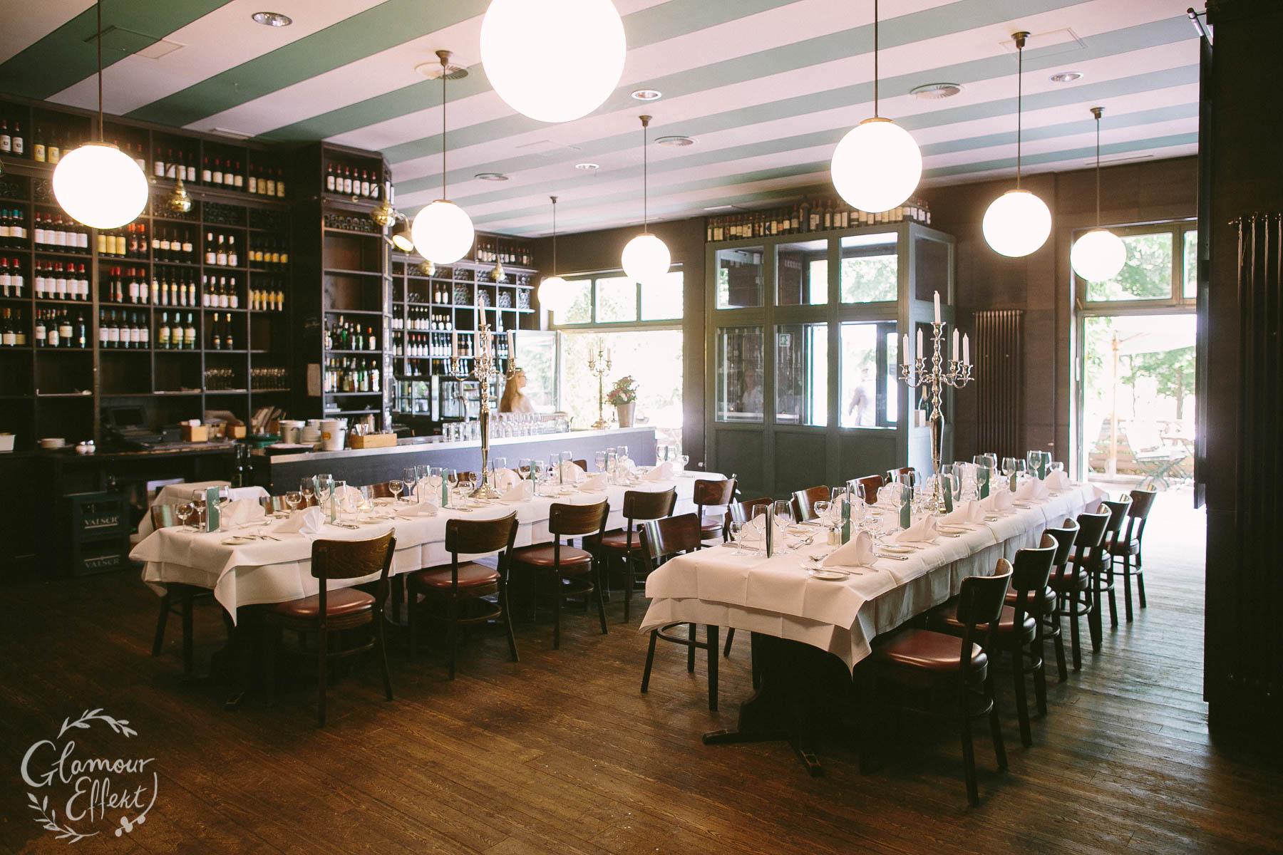 Die Weinhandlung am Schlachtensee: Fischerhütte für die Hochzeit