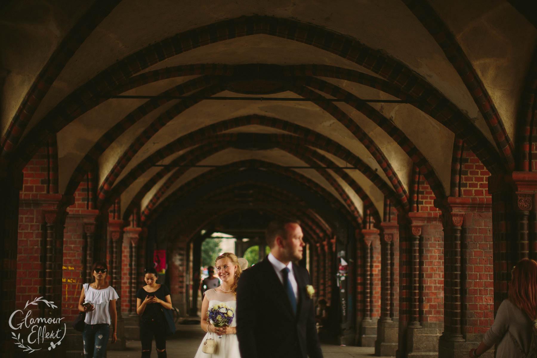 Oberbaumbrücke Hochzeitsfotos