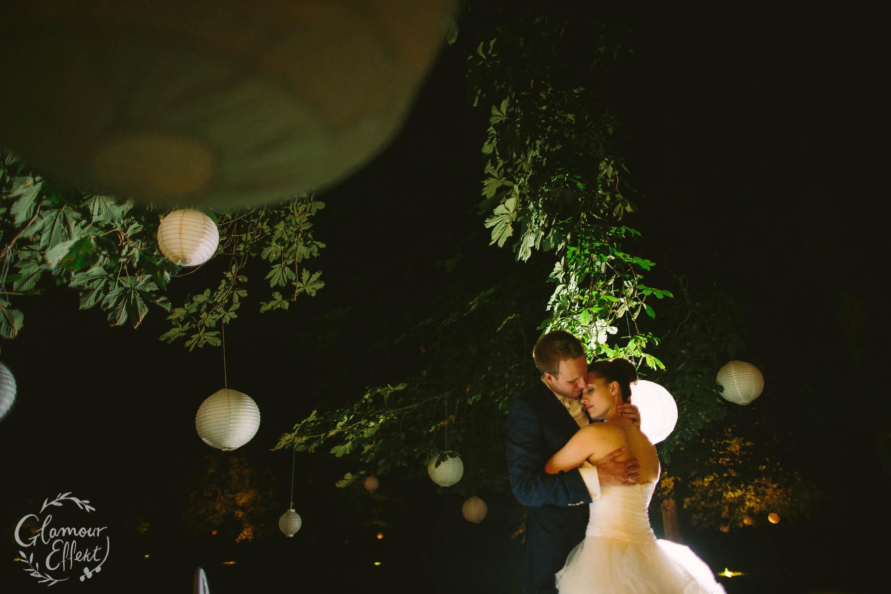 Hochzeitsfotos mit Brautpaar auf Schloss Kartzow