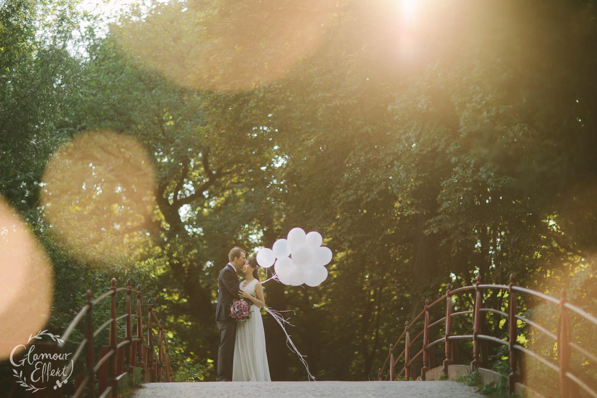 Hochzeitsfotos Schloss Charlottenburg Park
