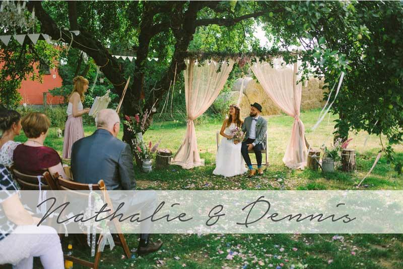 Schmetterlingsgarten Hochzeit