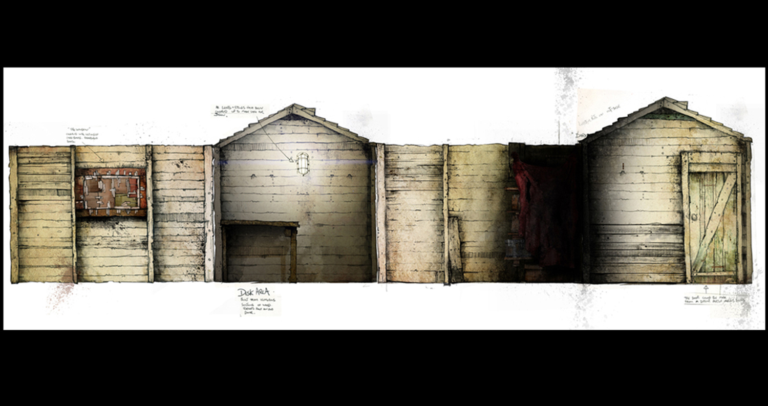 Shed interiour - David Lea