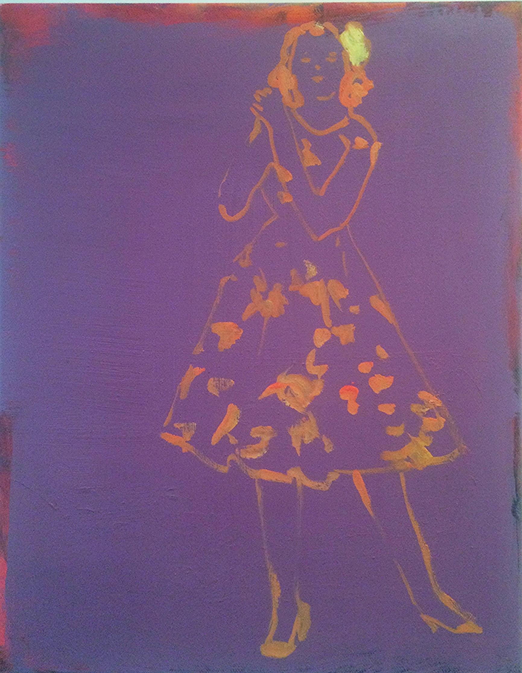 "Oil on Canvas, 14 x 11"""