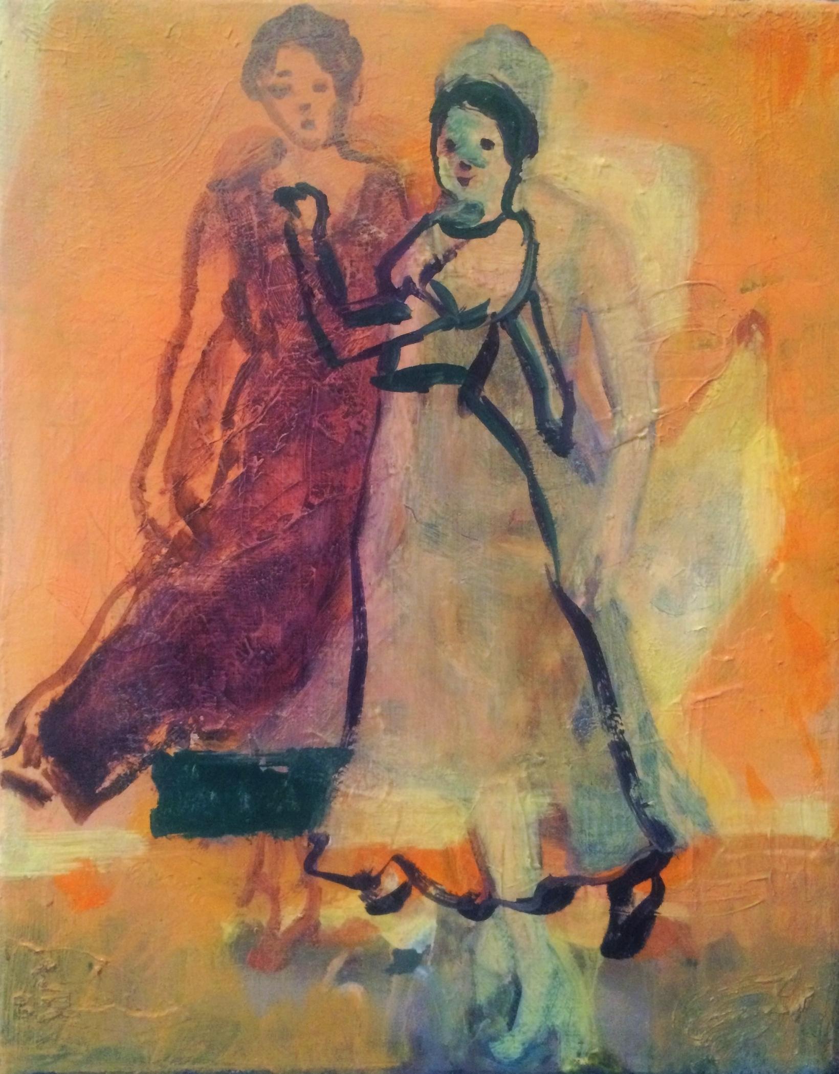 "Oil on Canvas, 10 x 8"""