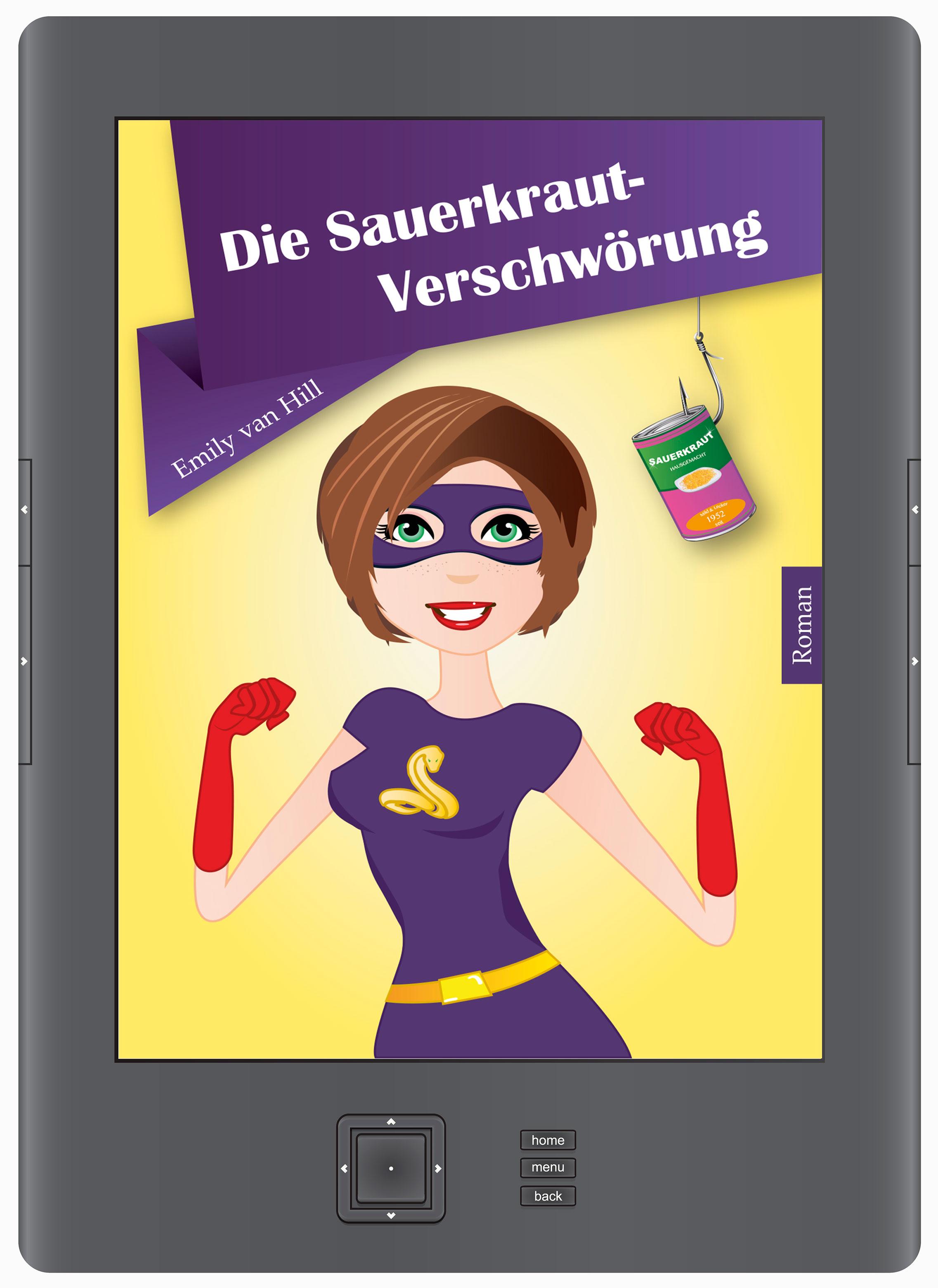 Die Sauerkraut-Verschwörung  - als E-Book und als Taschenbuch.