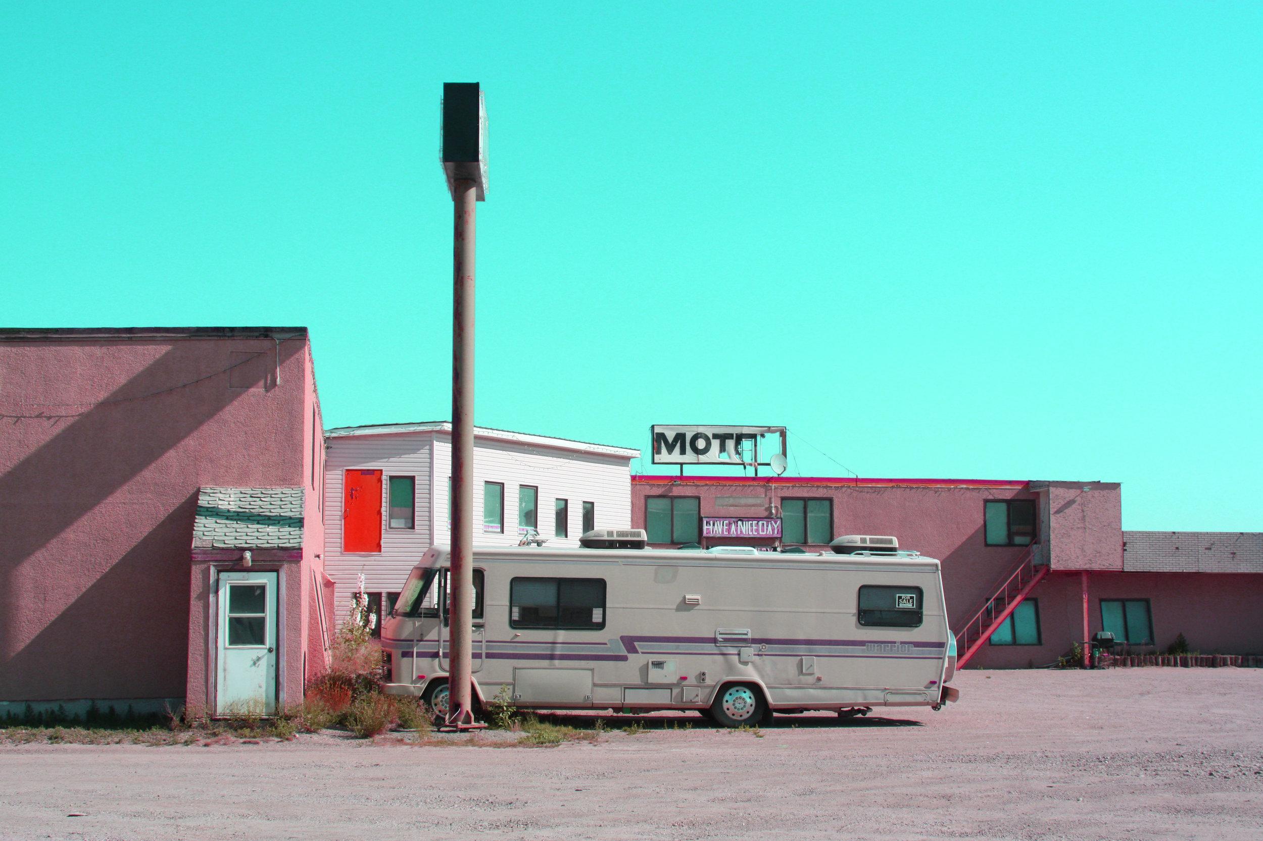 Day 1; Murder Motel (Saskatchewan/ Alberta boarder)