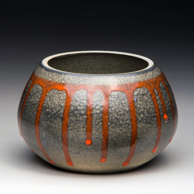 """Harvest Moon"", Stoneware Bowl, 7.5cm Tall x 13cm Diameter (3"" x 5"")"
