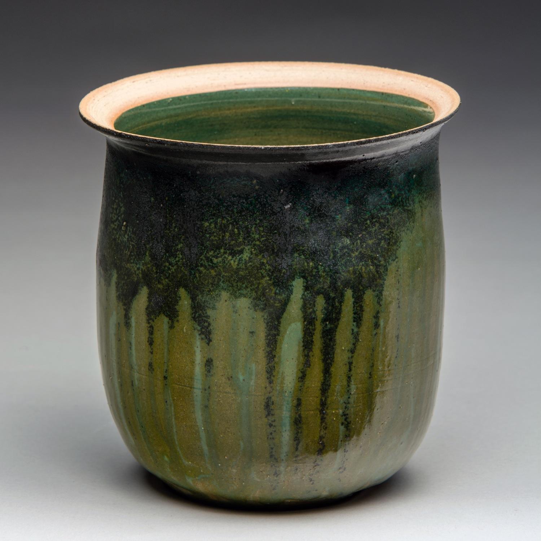 """Porosity"", Stoneware Vase, 11.5cm Tall x 12cm Diameter (4.5"" x 4.75"")"