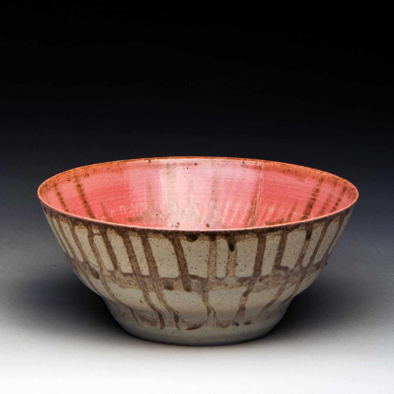 """Campout"", Stoneware Bowl, 6.25cm Tall x 15.25cm Diameter (2.5"" x 6"")"