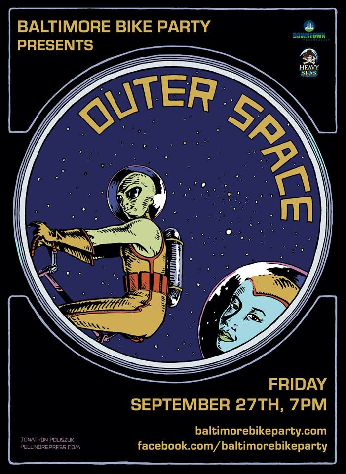 Baltimore Bike Party Outer Space
