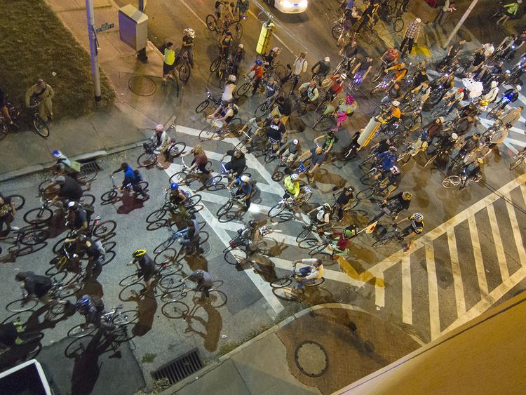 September Baltimore Bike Party