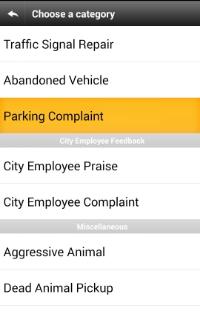 Parking Complaint