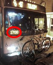 Block Numbers on MTA Buses help to identify the driver in the case of reporting an incident.
