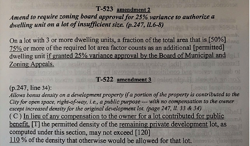 amendment revisions