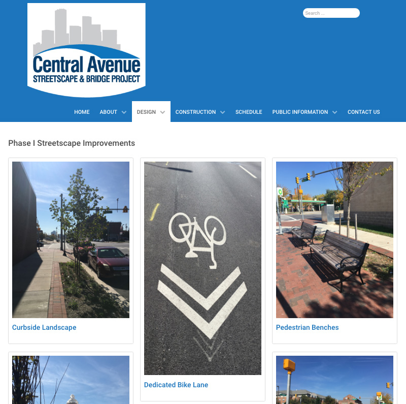 "The Central Avenue project website describes Phase I ""Sharrows"" as Dedicated Bike Lanes."