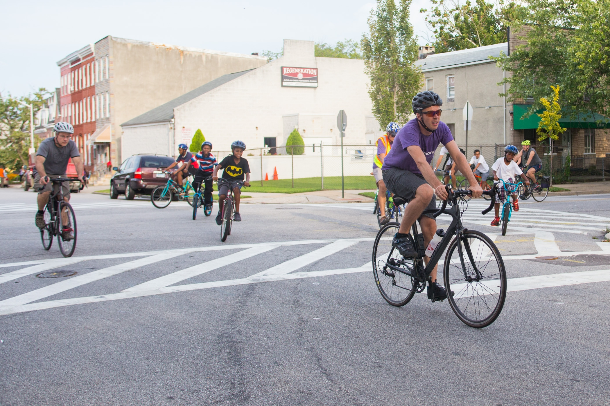 RIDE  We organize rides to bring people together, to explore particular areas or issues, and to enjoy Baltimore by bike together! You might help check people in, act as a ride marshal to keep riders on route, or help with route planning beforehand.