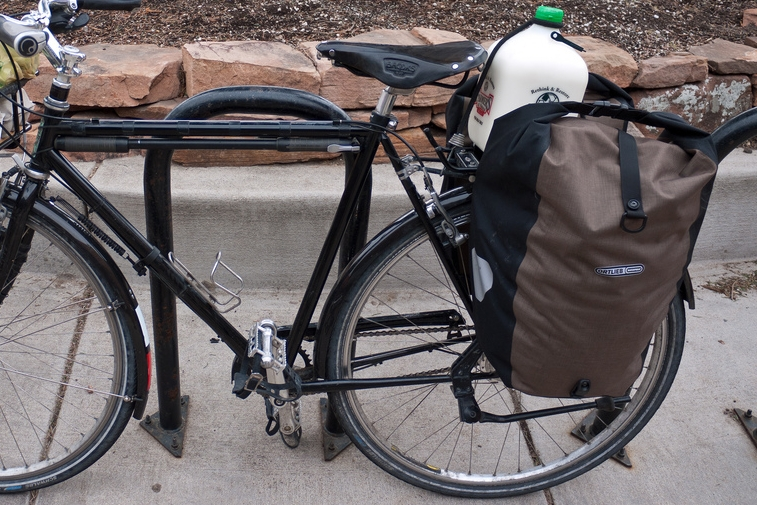 Panniers and rear racks are great for larger and heavier loads, and for those times you get caught in the rain.