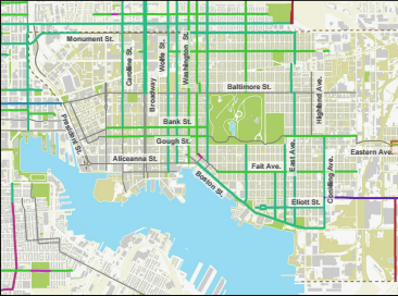 Bike Routes 2012 Plan