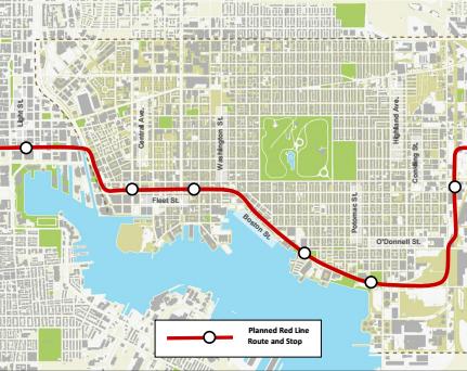 Red Line 2012 Plan