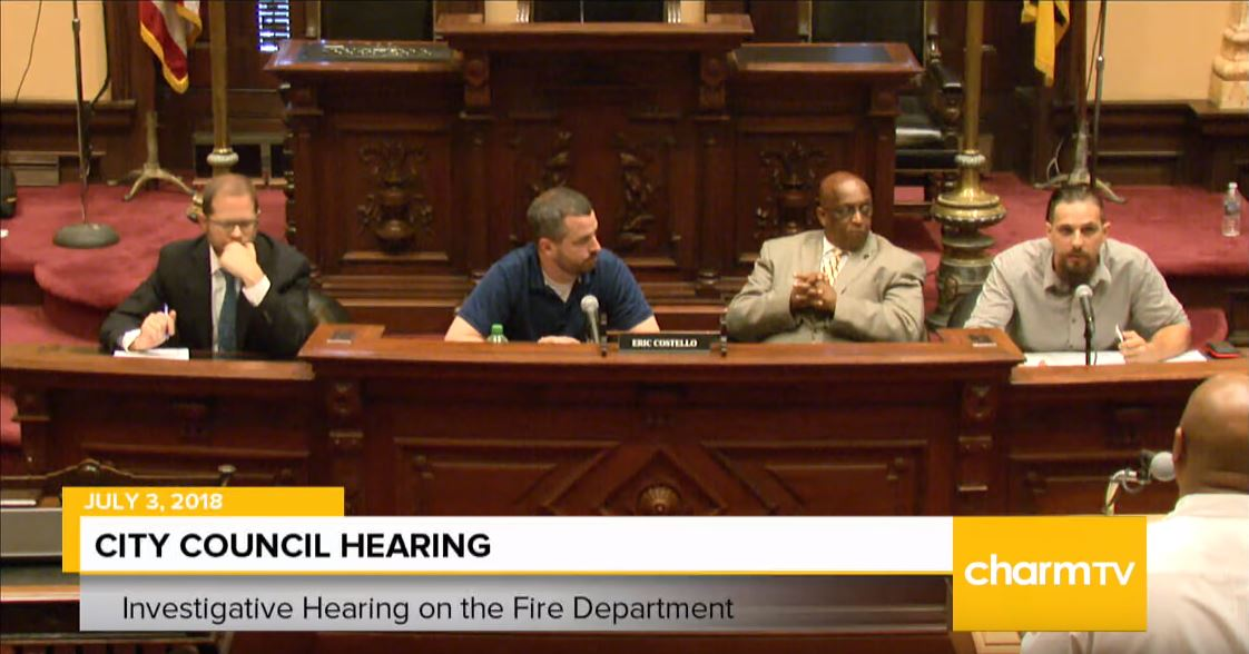 City Council Hearing on BCFD video that deployed a truck in front of Liz Cornish's home.