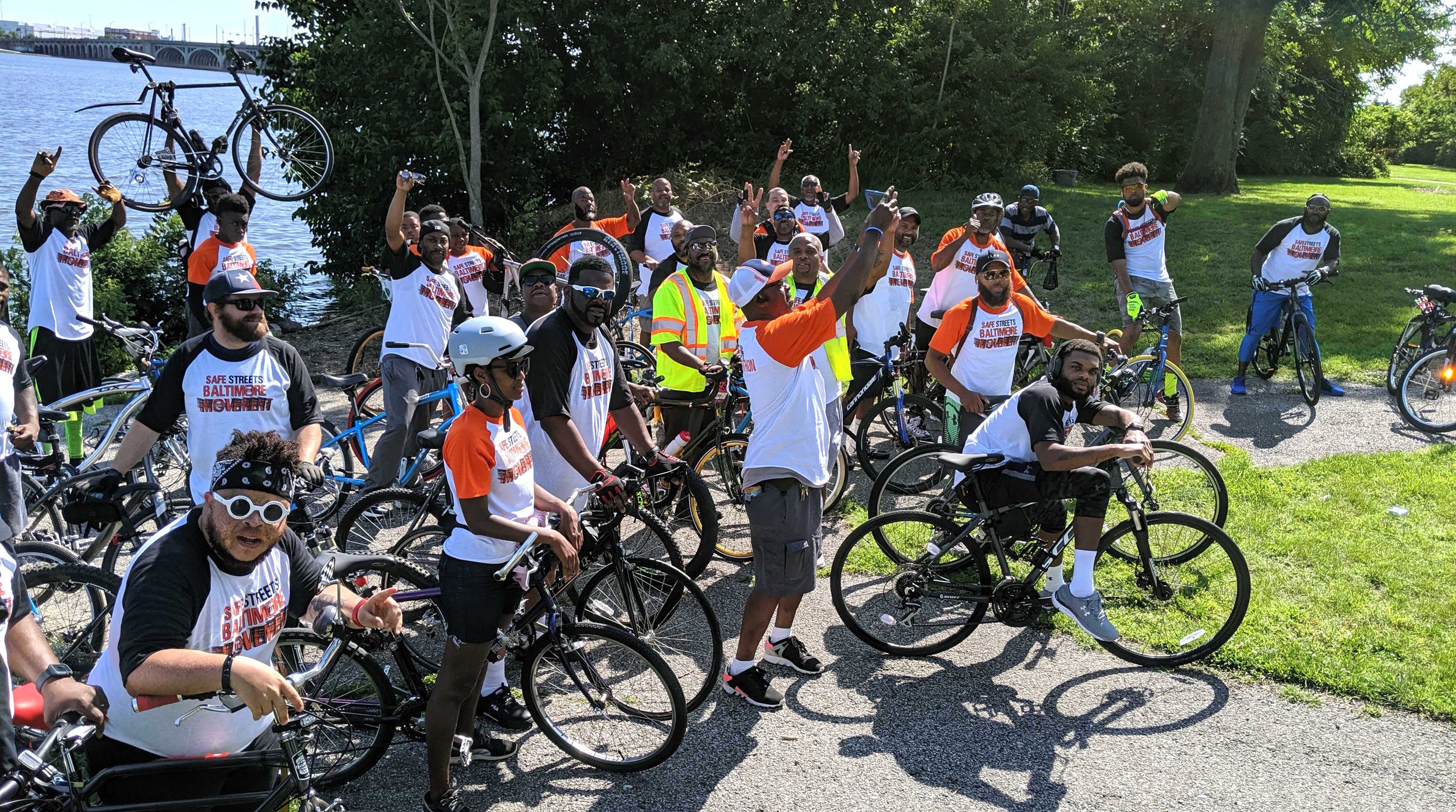 Last weekend we rode with neighbors at the Pedal-a-thon in Cherry Hill