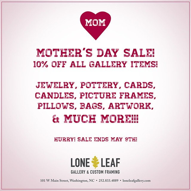 #loneleafgallery #mothersday #sale #gallery #gift