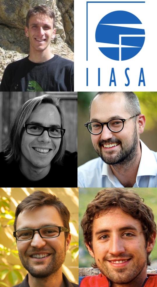 Authors and IIASA summer programme participants, Edoardo Borgomeo, Mikko Dufva, Lukas Figge, Thomas Schinko and Fabian Schipfer