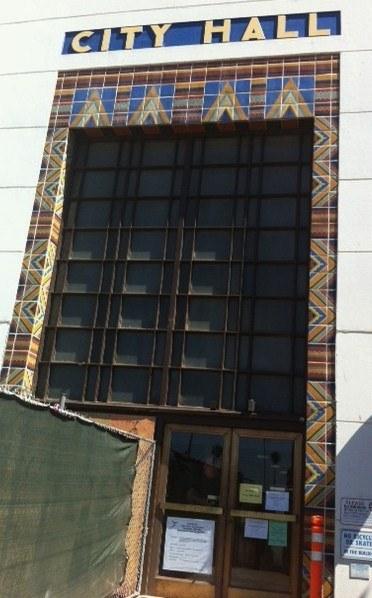 City Hall facade revealed.JPG