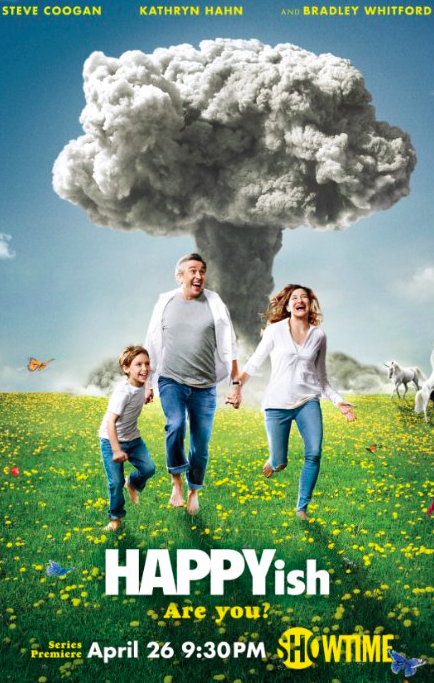 You can see an early trailer here  http://www.cinemablend.com/television/Happyish-Trailer