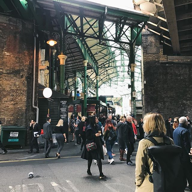 Borough Market is one of my favorite places in the world, and it's hard for me to fathom that something so terrible could happen in and around such a uniquely magical public space. My heart goes out to #London, today and always ❤️