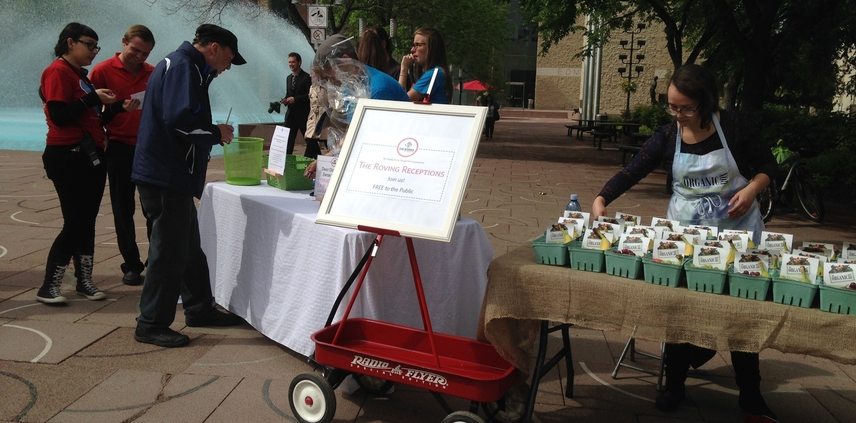Roving Reception on Churchill Square