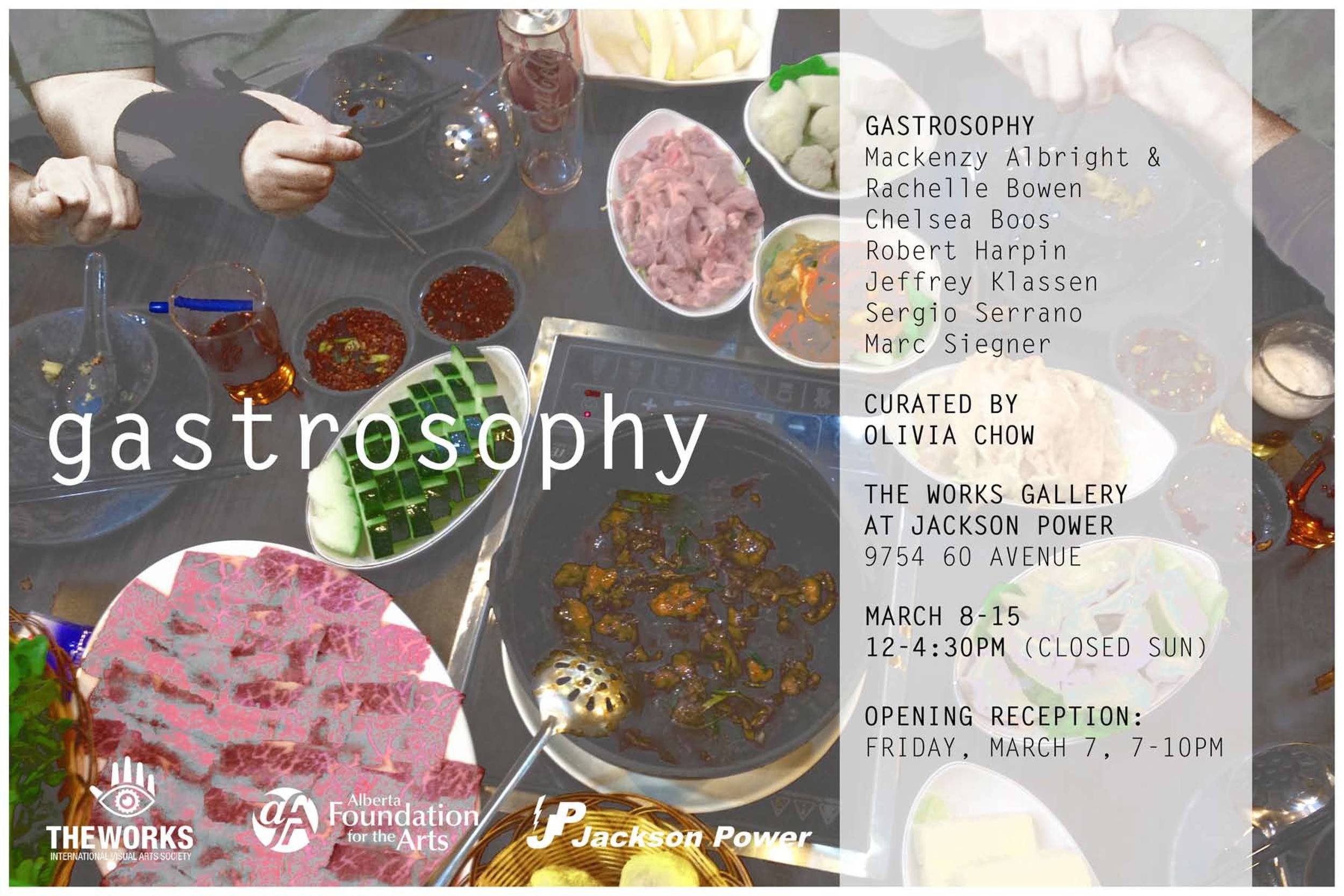 Gastrosophy, Curated by Olivia Chow (2014)