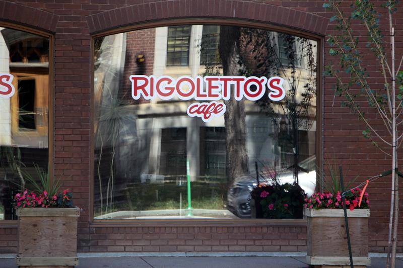 Rigoletto's Café  Doris Charest