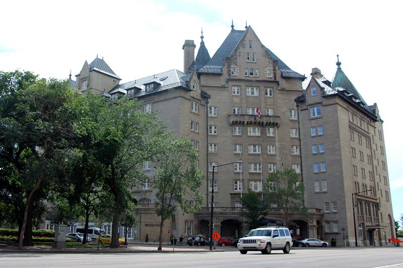 Fairmont Hotel Macdonald  Brian McArthur and Dawn Detarando