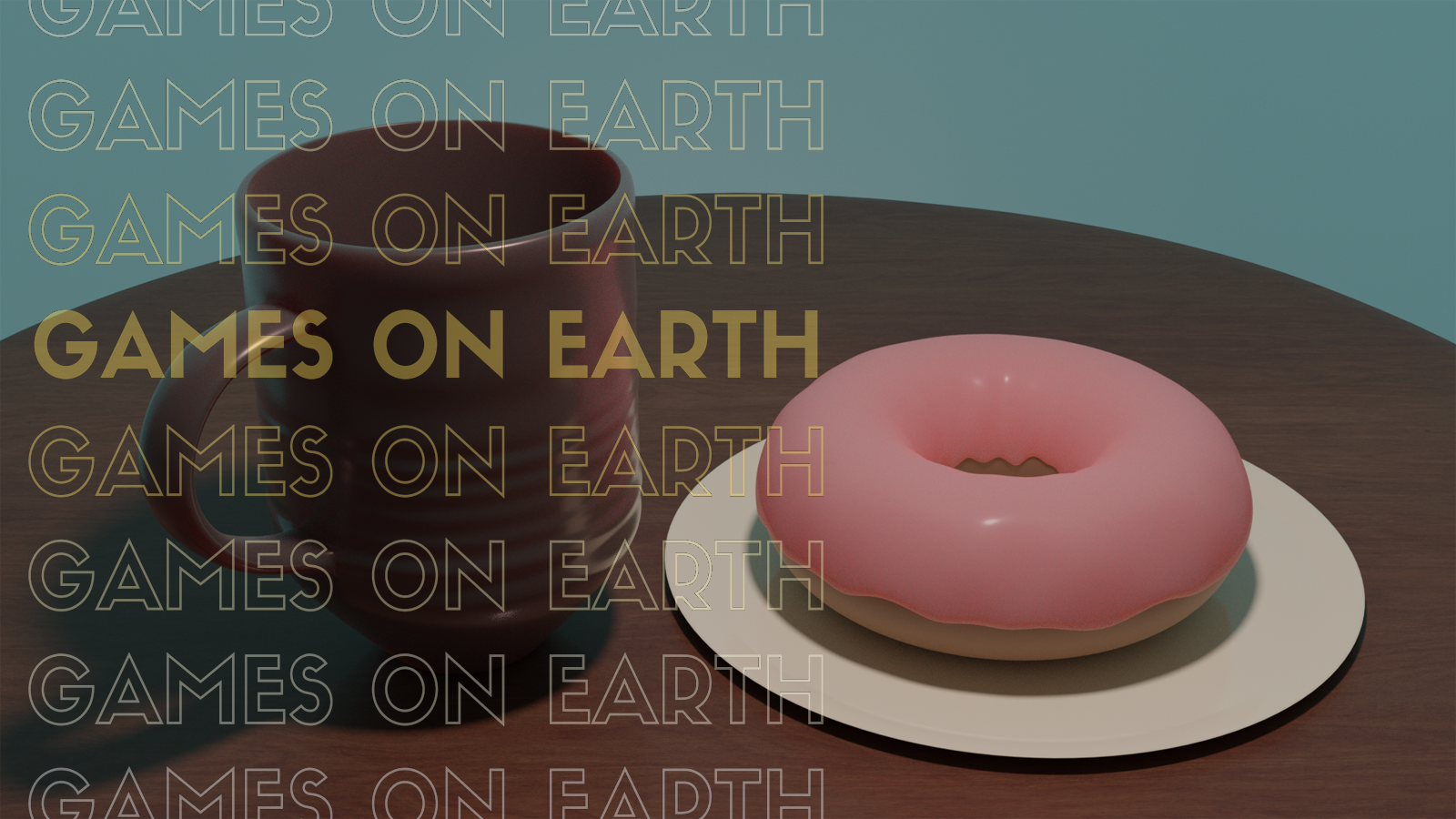This week we're showing off our first official 3d artwork created by Bradley Bitcheno. BEHOLD THE DONUT! Look into its reflective glaze and take a moment to consider the long and storied history of our species. Our ancestors climbed and fell from trees, with no thought of yeast or carbohydrates.  Now focus your attention on the coffee cup. Recall that tenth cup of coffee on that one weekend in 2005 where you stayed up for days slicing your way across Westfall...  Time is fleeting, listen to this podcast.