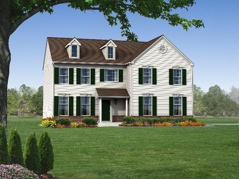 The Berkshire  2,200 sf / 4 br / 2.5 ba / 2 car garage Starting at $299,990