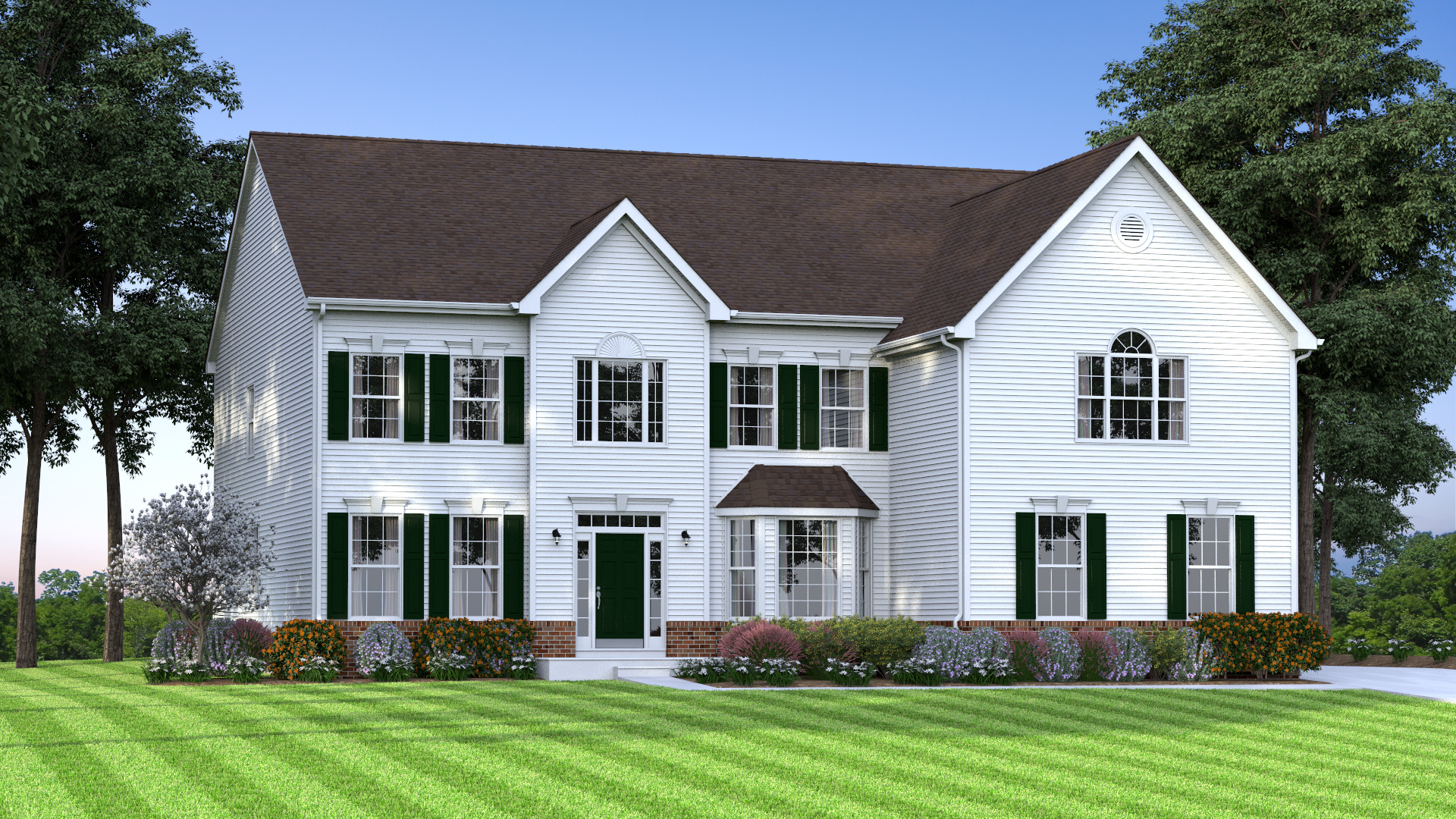 The Century  4,200 sf / 4 br / 2.5 ba / 2 car garage Starting at $371,990