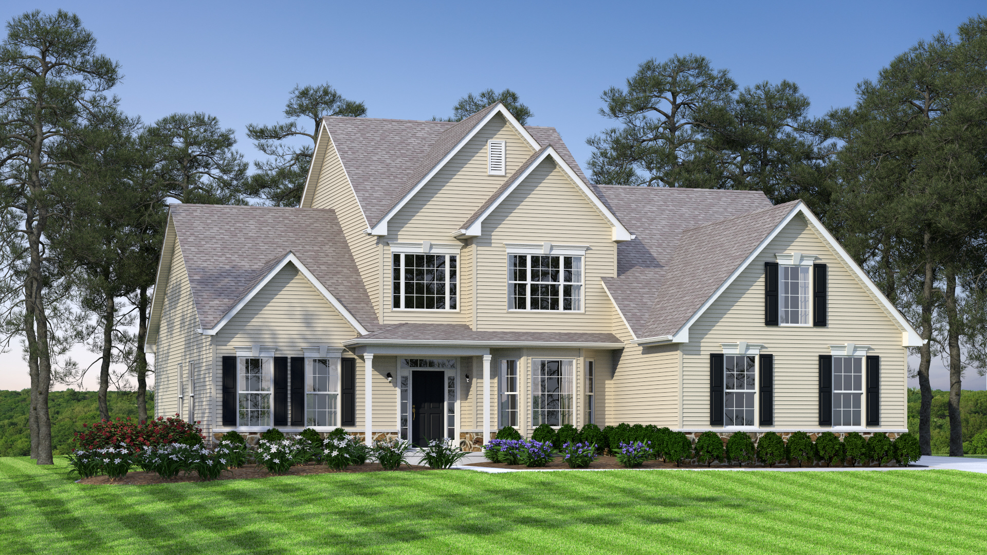 The Legend   2,800 sf / 4 br / 2.5 ba / 2 car garage  Starting at $346,990